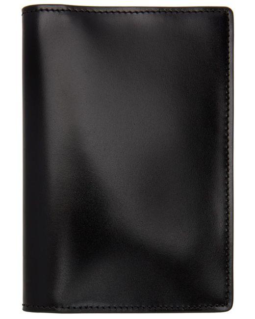 メンズ Maison Margiela ブラック パスポート ホルダー Black