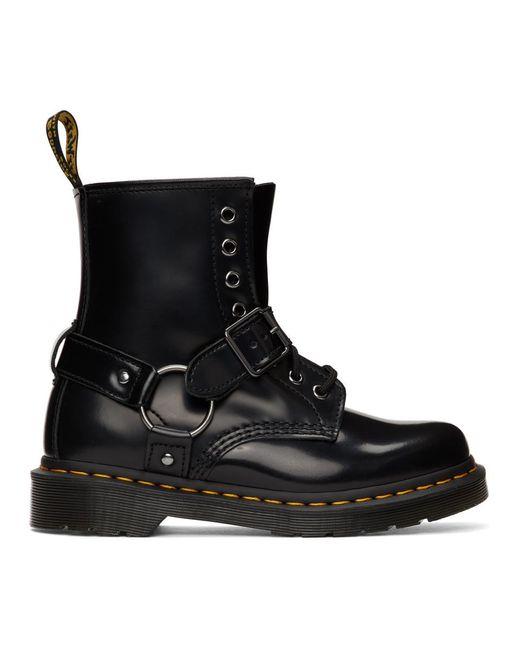 Dr. Martens ブラック 1460 ハーネス ブーツ Black