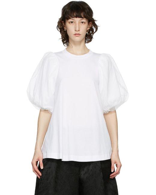 Simone Rocha ホワイト T シャツ White