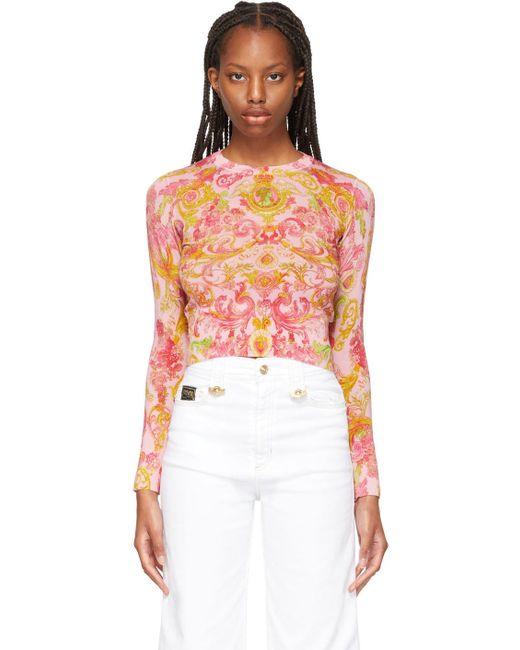 Versace Jeans ピンク Versailles セーター Pink