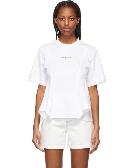 Stella McCartney ホワイト ロゴ T シャツ White