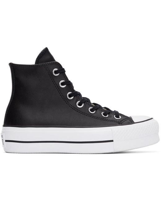 Converse ブラック Chuck Taylor All Star Lift ハイ スニーカー ウィメンズ Black