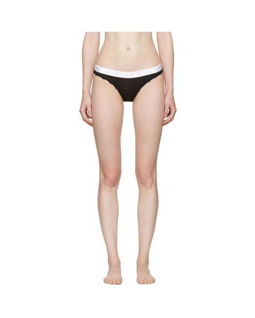 Baja East | Three-pack Black Rltd Edition Logo Bikini Briefs | Lyst