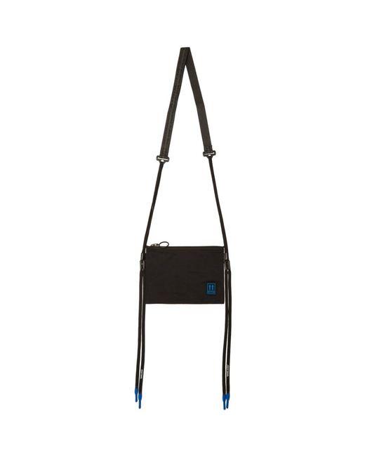 Off-White c/o Virgil Abloh Black Flat Crossbody Bag