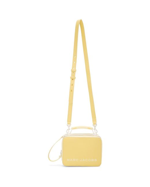 Marc Jacobs イエロー The Mini Box バッグ Yellow