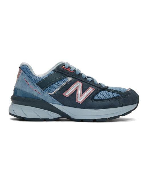 New Balance ブルー Made In Us 990 V5 スニーカー Blue