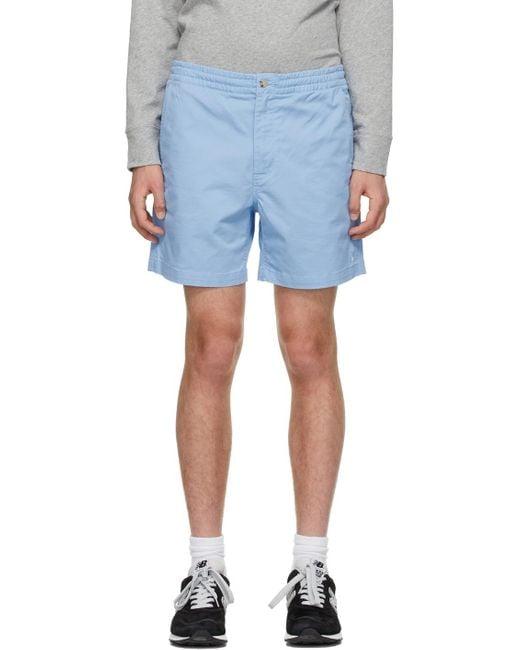メンズ Polo Ralph Lauren ブルー Prepster ショーツ Blue