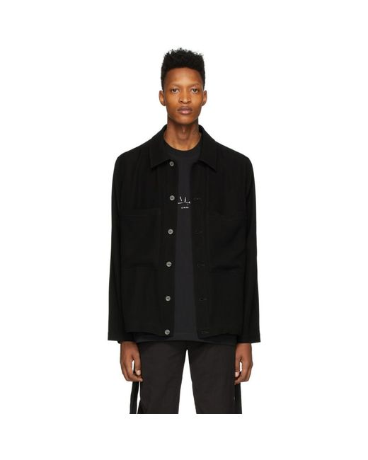 Song For The Mute Black Parents Patch Pocket Jacket for men