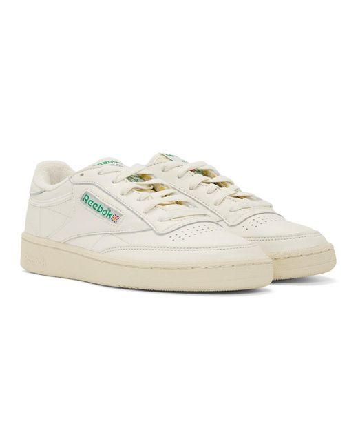 ... Reebok - White Club C 85 Vintage Sneakers for Men - Lyst ... 42eb5278a