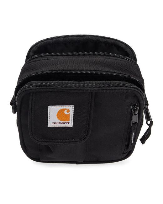 メンズ Carhartt WIP ブラック スモール Essentials ポーチ Black
