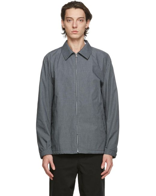 Comme des Garçons Gray Grey Oxford Jacket for men