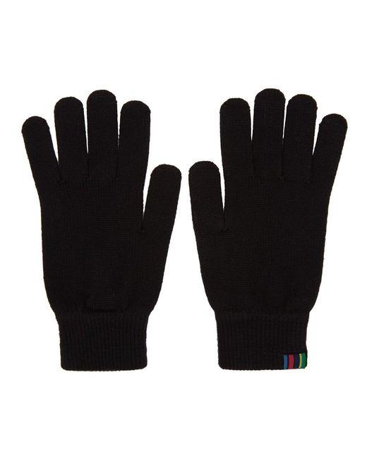 Gants en laine noirs PS by Paul Smith pour homme en coloris Black