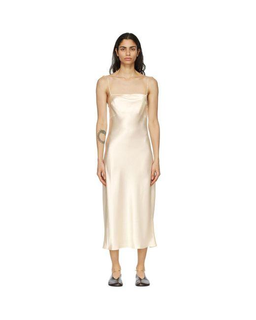 Le Kasha オフホワイト Hotan ドレス Natural