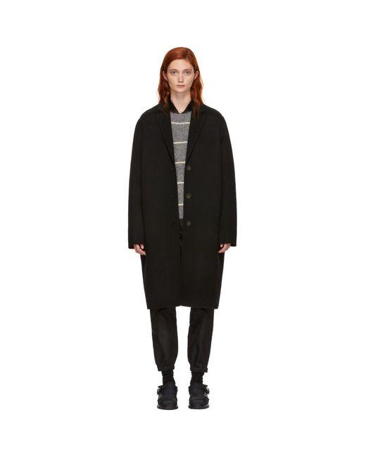 Acne - Black Avalon Coat - Lyst