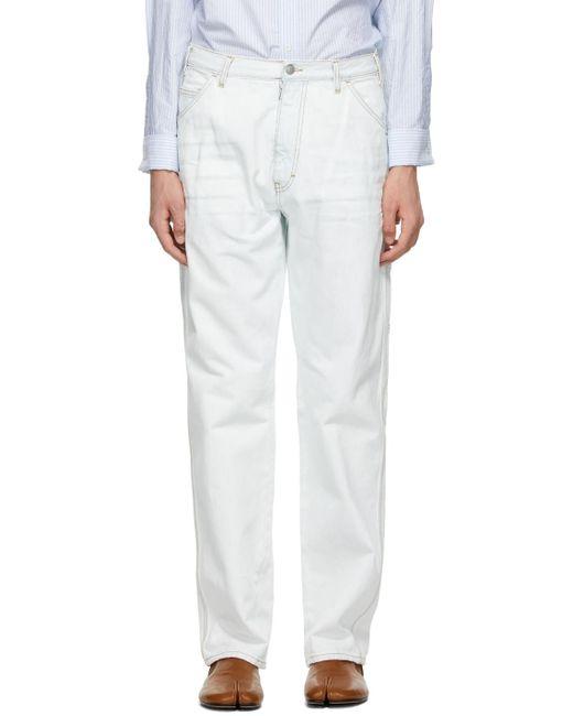 メンズ Maison Margiela ブルー Workwear ジーンズ Blue