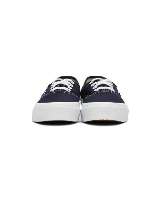 メンズ Vans ネイビー Og Authentic Lx スニーカー Blue
