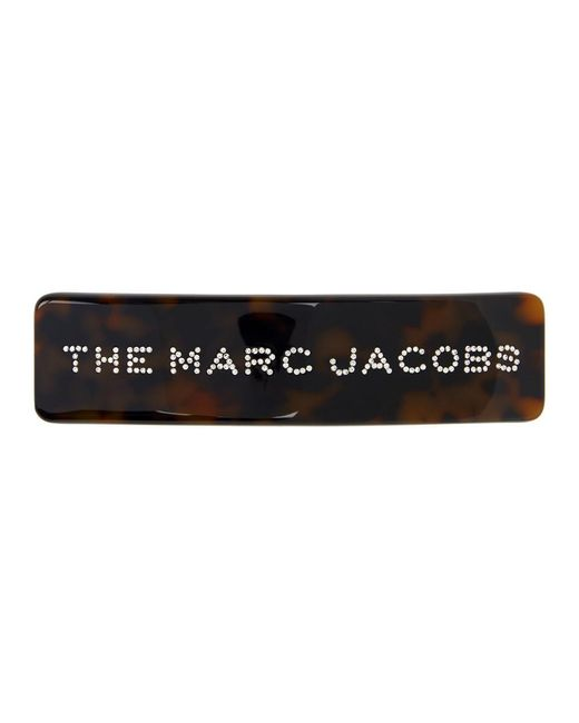 Marc Jacobs トータスシェル The Barrette ヘア クリップ Multicolor