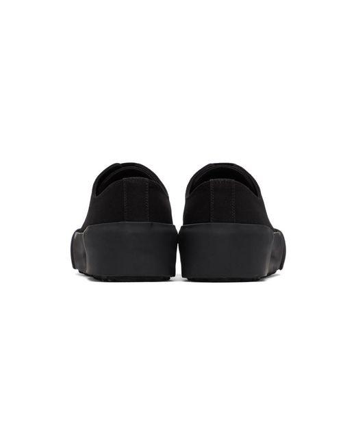 メンズ Jil Sander ブラック スニーカー Black