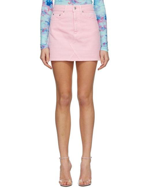 MSGM ピンク ミニスカート Pink