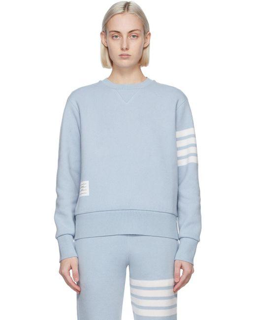 Thom Browne ブルー 4bar セーター Blue