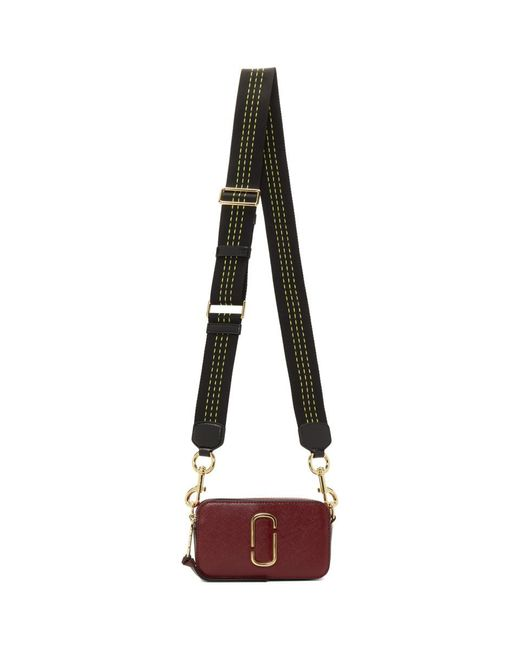 Marc Jacobs Multicolor Red Snapshot Camera Bag