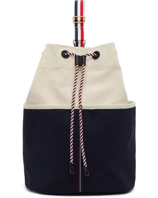 Thom Browne オフホワイト Sailor バックパック Multicolor