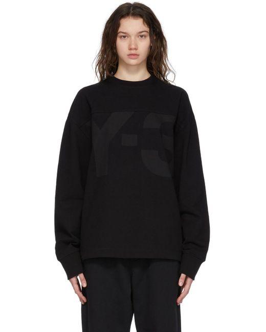 Y-3 ブラック Heavy Classic スウェットシャツ Black