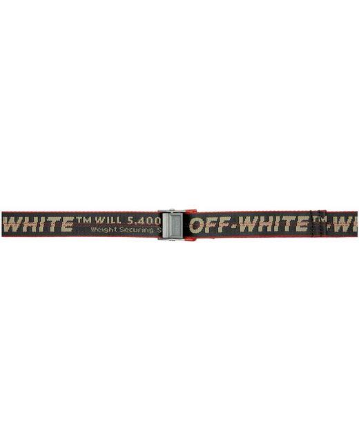 Off-White c/o Virgil Abloh Gray Grey Mini Industrial Belt