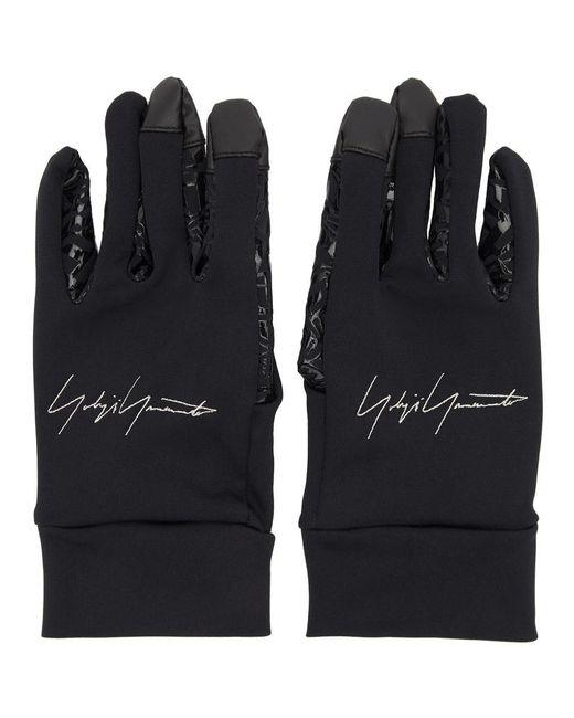 Gants noirs New Era Yohji Yamamoto pour homme en coloris Black