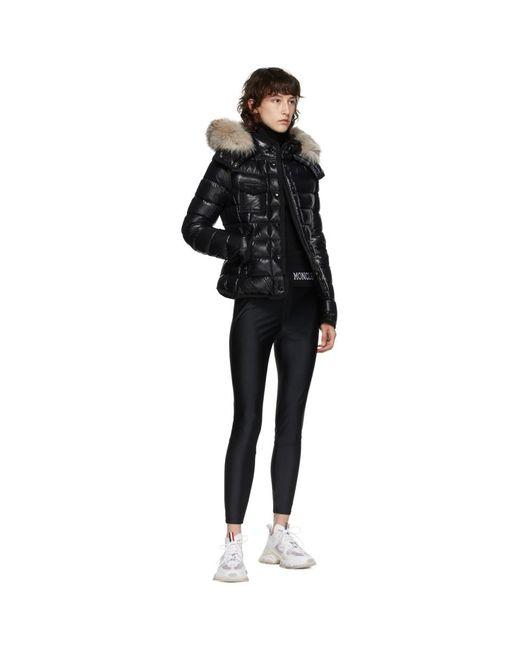 Moncler ブラック ダウン Armoise ジャケット Black