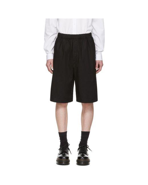 Short a taille elastique noir McQ Alexander McQueen pour homme en coloris Black