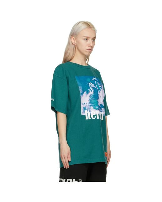 Heron Preston ブルー Herons T シャツ Blue