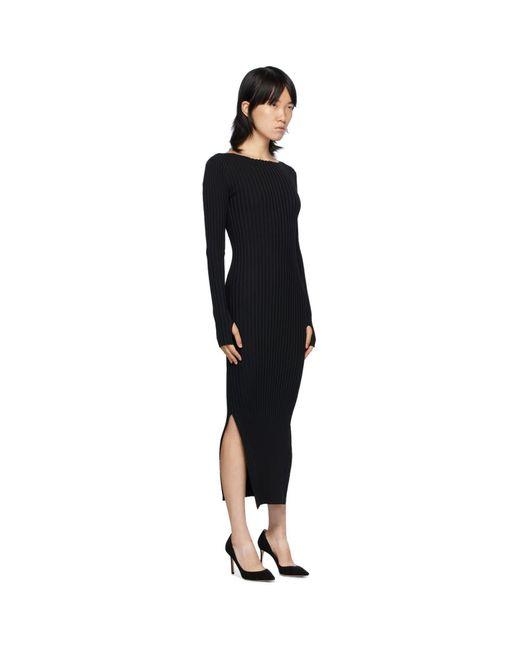 Totême  ブラック Orville ドレス Black