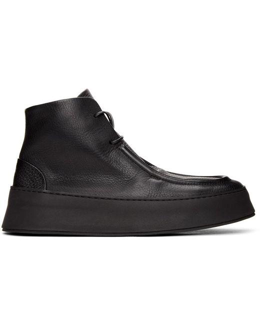 Marsèll Black Cassapana Boots for men