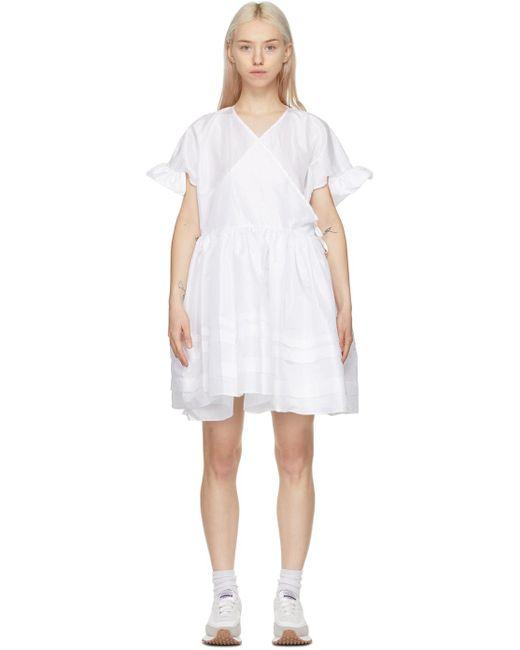 CECILIE BAHNSEN ホワイト Prisca ドレス White