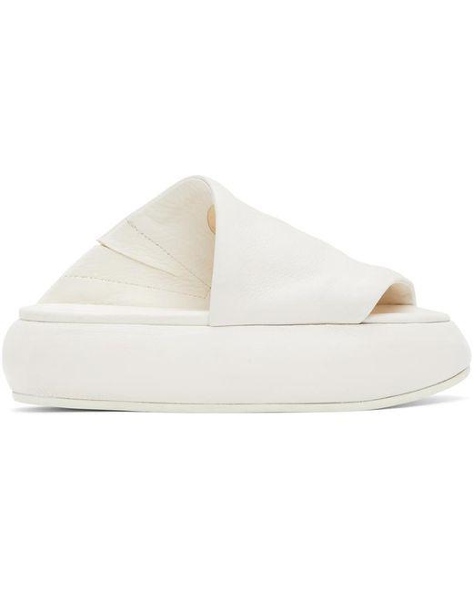 Marsèll ホワイト Ciambellona サンダル White