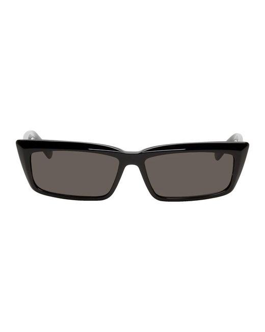 Balenciaga ブラック Bb0047s サングラス Black