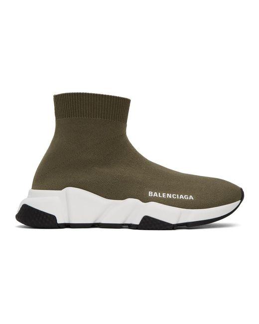 Balenciaga グリーン スピード Speed スニーカー Green