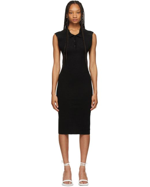 Jacquemus ブラック La Robe Santon ドレス Black