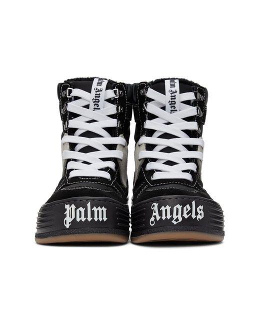 メンズ Palm Angels ブラック Snow ハイトップ スニーカー Black