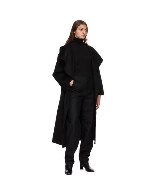 Totême  ブラック Annecy コート Black