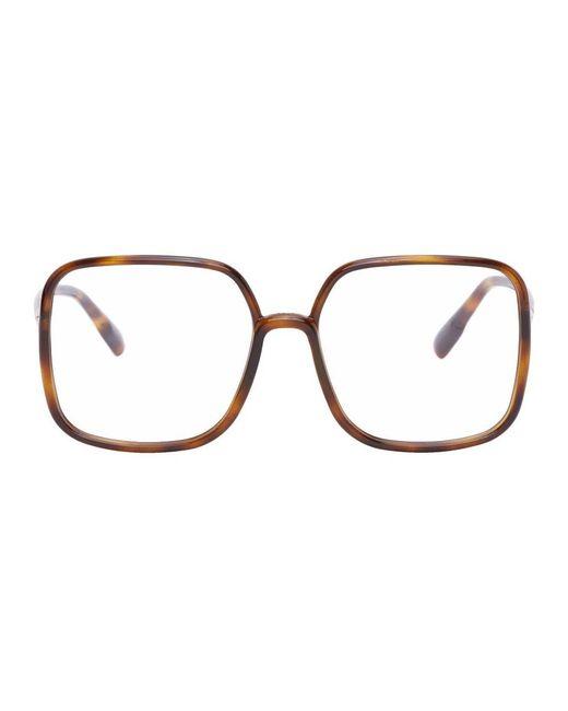 Dior トータスシェル Sostellaire01 メガネ Multicolor