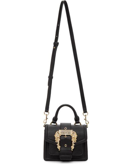 Versace Jeans ブラック Couture 1 トップ ハンドル バッグ Black