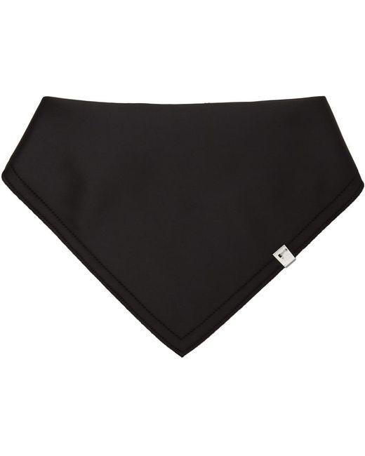 メンズ 1017 ALYX 9SM ブラック Row Cut バンダナ スカーフ Black