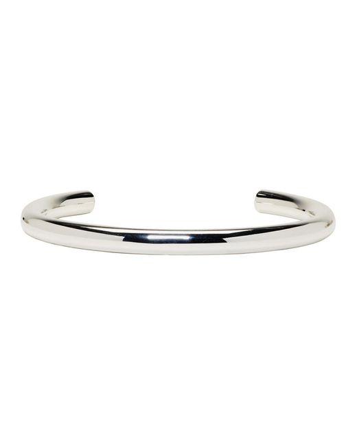 Saskia Diez - Metallic Silver Bold Neckpiece - Lyst