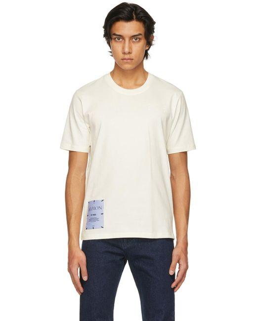 メンズ McQ Alexander McQueen Albion コレクション ベージュ Regular T シャツ Multicolor