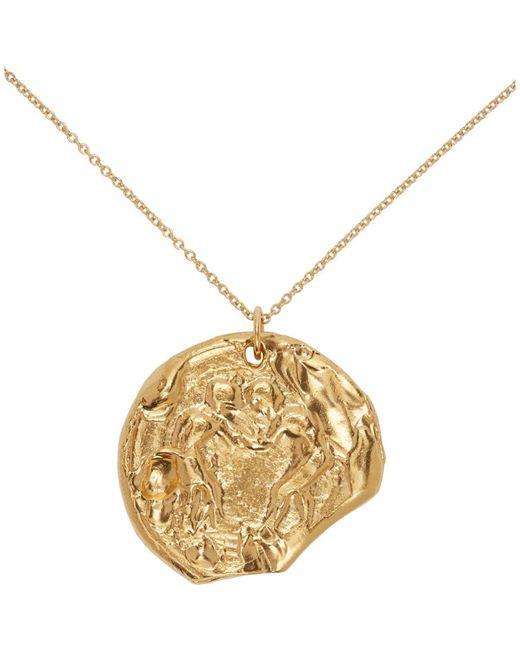 Alighieri ゴールド The Kindred Souls Medallion ネックレス Metallic