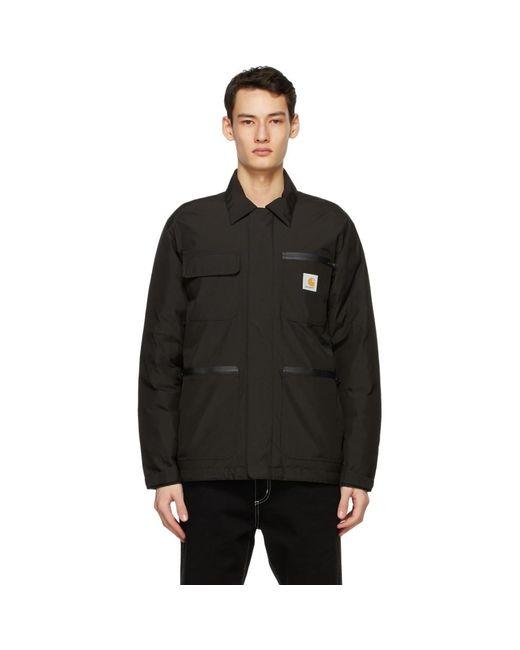 メンズ Carhartt WIP ブラック Gore-tex® Michigan ジャケット Black
