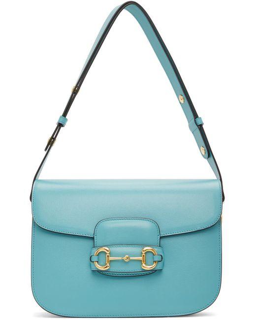 Gucci ブルー 1955 ホースビット バッグ Blue