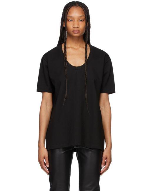 Totême  ブラック Heavy オーバーサイズ T シャツ Black